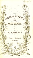 view Arnica, calendula, cantharides, ledum, ruta, and rhus tox as external remedies in cases of accident, etc. : with an appendix on the uses of camphor / by Henry Thomas.