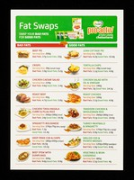 view Fat swaps : swap your bad fats for good fats : Flora Pro-active actively lowers cholesterol.