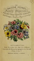 view Culpeper's complete herbal : with nearly four hundred medicines, made from English herbs, physically applied to the cure of all disorders incident to man; with rules for compuounding them: also, directions for making syrups, ointments, &c / by Nicholas Culpeper.