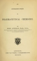 view An introduction to pharmaceutical chemistry / by John Attfield.