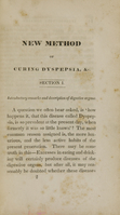 view A full and accurate account of the new method of curing dyspepsia : discovered and practised by O. Halsted : with some observations on diseases of the digestive organs.