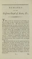 view Remarks on the gaseous oxyd of azote or of nitrogene, and on the effects it produces when generated in the stomach, inhaled into the lungs, and applied to the skin : being an attempt to ascertain the true nature of contagion, and to explain thereupon the phenomena of fever / by Samuel Latham Mitchell, M.D. F.R.S.E. ; professor of chemistry, natural history and agriculture in the College of New-York.