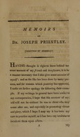 view Memoirs of Dr. Joseph Priestley: to the year 1795 (Volume 1).