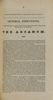 view Remarks, preliminary to the exhibition of Dr. Phelps' practically established Arcanum.