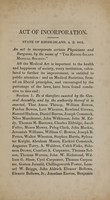 view The act of incorporation, together with the medical police, by-laws, and rules of the Rhode-Island Medical Society.