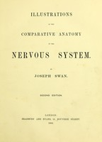 view Illustrations of the comparative anatomy of the nervous system.