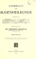 view Lehrbuch der Augenheilkunde / herausgegeben von Theodor Axenfeld.