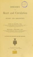 view Diseases of the heart and circulation in infancy and adolescence / by John M. Keating and William A. Edwards.
