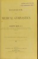view Hand-book of medical gymnastics.