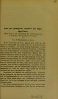 view Ueber die chirurgische Anästhesie bei Augenoperationen : (Nach einem in der Gesellschaft der Charité-Aerzte am 4 December 1884 gehaltenen Vortrage) / von J. Hirschberg.