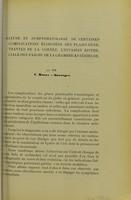 view Nature et symptomatologie de certaines complications éloignées des plaies pénétrantes de la cornée : l'invasion épitheliale parois de la chambre antérieure / par V. Morax et Duverger.