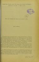 view Note sur l'origine des fibres de la zonule de Zinn / par J. Mawas.