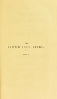 view The British flora medica, or, History of the medicinal plants of Great Britain / by Benjamin H. Barton and Thomas Castle.