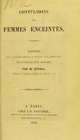 view Convulsions des femmes enceintes / par M. Depaul.