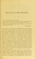 view On the law of the coroner : and on medical evidence in the preliminary investigation of criminal cases in Scotland / by James Craig.