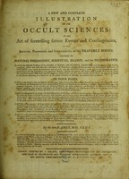 view A new and complete illustration of the occult sciences / [E. Sibly].