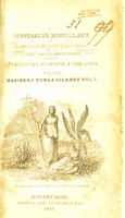 view An account of the natives of the Tonga islands, in the south Pacific ocean. With an original grammar and vocabulary of their language / Compiled and arranged from the extensive communications of Mr. William Mariner, several years resident in those islands. By John Martin.