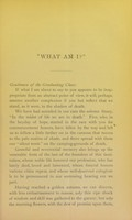 view 'What am I?' : a valedictory address to the graduates delivered at the close of the forty-first session of the Medical Department of the University of Louisville, February 28, 1878 / by J.M. Bodine.