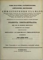 view Commentatio de nova chiloplasticae instituendae methodo.