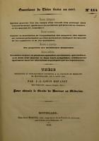 view Thèse présentée et publiquement soutenue à la Faculté de médecine de Montpellier, le 24 août 1840 / par J.-J.-Louis Rouanet.
