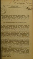 view On the duration of life as affected by the pursuits of literature, science, and art : with a summary view of the duration of life among the upper and middle classes of society / by William A. Guy.