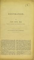 view Respiration / by John Reid.