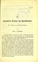 view Anatomische Beiträge zur Ohrenheilkunde. II. Section von 20 Schwerhörigen / von Prof. v. Tröltsch.