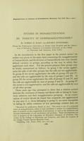 view Studies in isoagglutination. III. Tonicity in isohemagglutination / by Morris H. Kahn and Reuben Ottenberg.