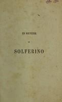 view Un souvenir de Solferino / [Henry Dunant].