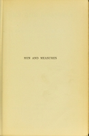 view Men and measures : a history of weights and measures, ancient and modern / by Edward Nicholson.
