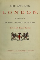 view Old and new London : a narrative of its history, its people, and its places / [Walter Thornbury].