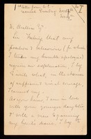 view Papers relating to Thomas Arthur Coltman [known as Arthur Coltman]