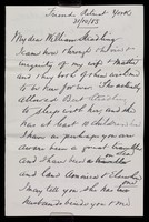 view Papers relating to Charles Cave Willmott