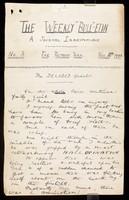 view Papers relating to Alexander McKibbin Arrowsmith