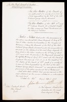 view Papers relating to John Frederick Clarke