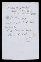 view Papers relating to Charles Cauldwell