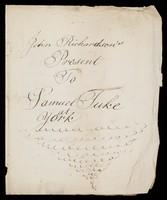 view Papers relating to John Richardson
