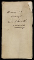 view Papers relating to John Ashworth