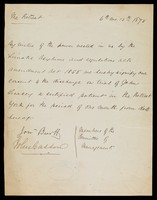 view Papers relating to John Treacey