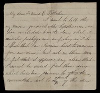 view Papers relating to Elizabeth Watson