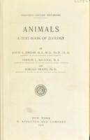 view Animals : a text-book of zoology / by David S. Jordan ... Vernon L. Kellogg ... and Harold Heath.
