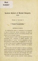 view [Dental Surgery 1896].
