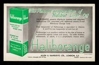 view The pleasant preparation of Halibut Liver Oil.