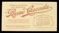view Byno-Cascada : a tonic laxative and digestive : June 1908.