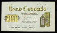 view Byno-Cascada : the ideal tonic laxative and nutrient digestive : April 1911.