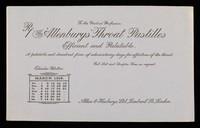 view The 'Allenburys' throat pastilles : efficient and palatable : March 1914.