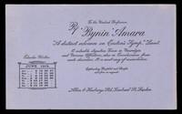 "view 'Bynin' Amara : ""a distinct advance on Easton's Syrup."" Lancet : June 1915."