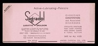 view Sagradol : active-lubricating-palatable.