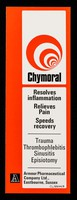 view Chymoral resolves inflammation relieves pain speeds recovery : AAA throat spray for the quick relief of sore throat pain and discomfort.