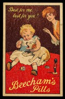 view Best for me best for you! : Beecham's Pills.